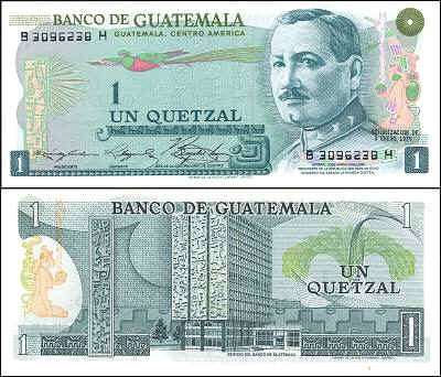 Guatemalan Quetzal On The Rise